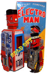 Electroman Robot Limited Edition Lithographed Metal Print Reproduction - SOLD OUT!