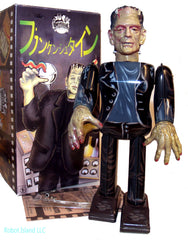 Frankenstein Robot Japan Tin Wind Up Metal House - SOLD OUT!