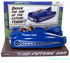 Space Ship Future Car Tin Toy Pulse Car Schylling Toys - SALE!