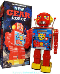 Gear Robot Metal House Japan 2010 Limited Edition