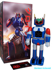 Groizer-X Robot Japan Character Tin Toy Windup Mazinger