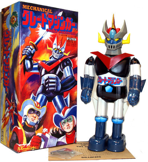 Great Mazinga Robot Billiken Windup Tin Toy