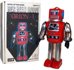 "Metal House Robot ""Orion-I"" Prototype Wind-Up"