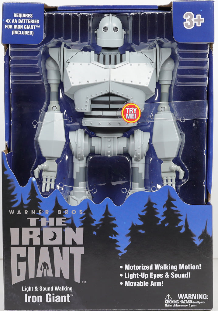 Giant Robot Warner Bros The Iron Giant Light & Sound Walking Action