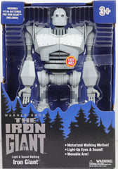 Giant Robot Warner Bros The Iron Giant Light & Sound Walking
