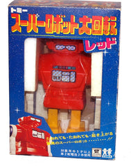 Red Karate Robot TOMY Japan