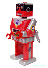 Laser Robot Windup Tin Toy St. John Toys Edition 2015 - SOLD OUT!