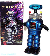 Lost in Space Robot YM-3 Blue Tin Toy Windup