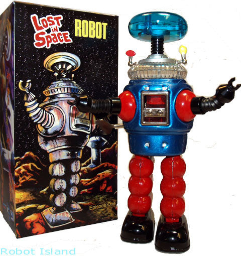 Lost in Space Robot Remco Commemorative Tin Toy Windup