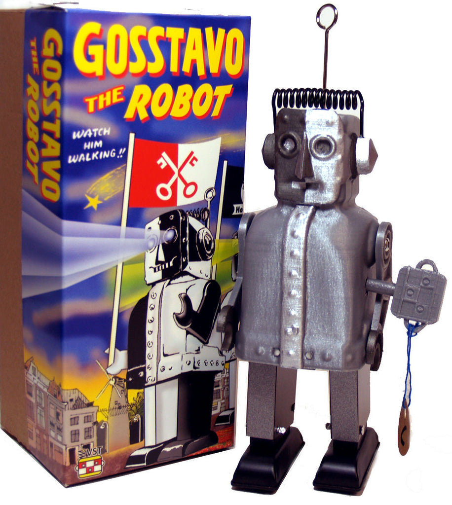 Gosstavo Robot Wind Up Holland Exclusive 3-D Production - Classic Version!