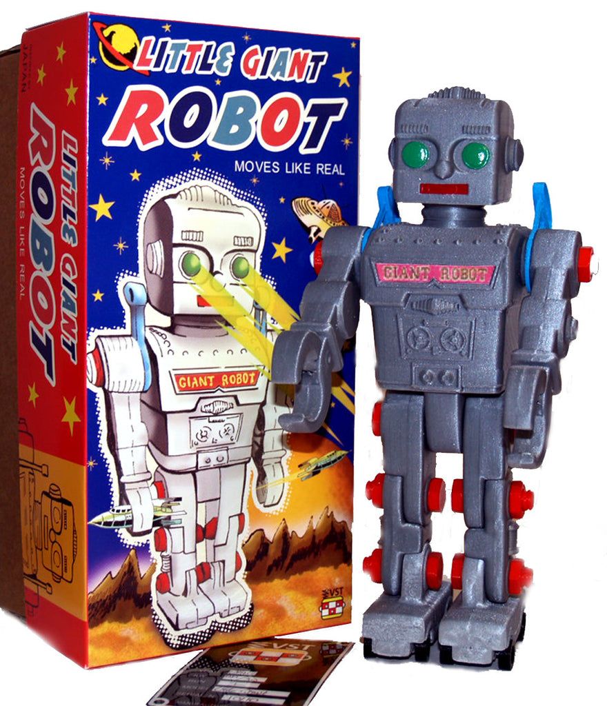 Little Giant Robot Gray TOMY 3-D Print Edition - Holland Exclusive