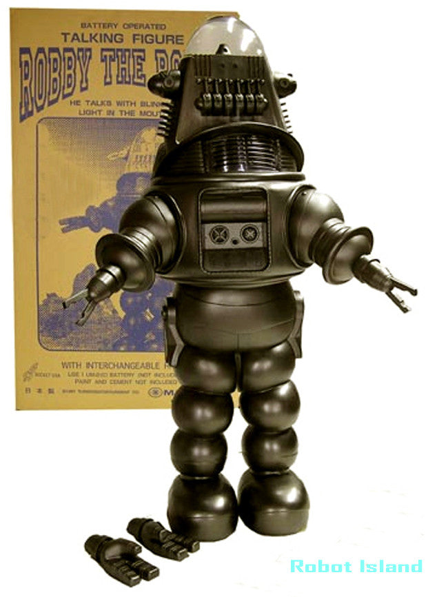 Robby The Robot 2 feet Tall Masudaya - SOLD