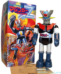 Mazinga Z Robot Billiken Windup Tin Toy