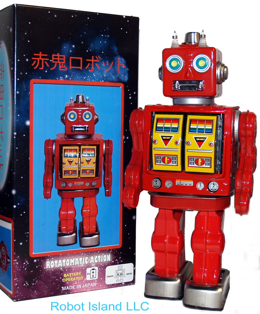Metal House Robot Akaoni Red Demon Robot Japan - SOLD OUT!