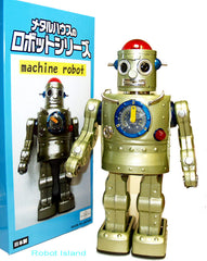 Metal House Japan Machine Robot Prototype Tin Toy - SOLD