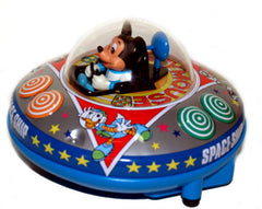 Masudaya Mickey Mouse Flying Saucer with Non-Fall Action