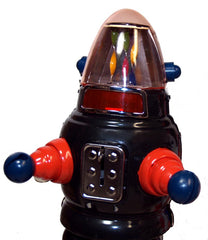 Black Moon Robot Robby the Robot Tin Toy Windup Limited Edition - SALE!
