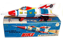 Nike Rocket Japan Tin Toy 1960's - SOLD