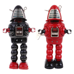 Black and Red Versions Planet Robot Tin Toy Robby the Robot SET
