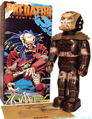Billiken Robot Predator Japan Tin Toy Windup - SALE!