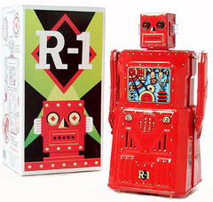 JUST ARRIVED - Red R-1 Robot Rocket USA RED