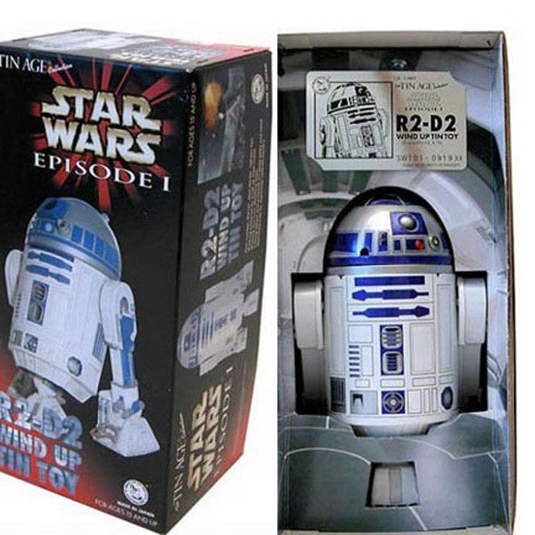 R2-D2 Tin Toy Robot Japan Windup Star Wars Osaka Tin Toy - SOLD!
