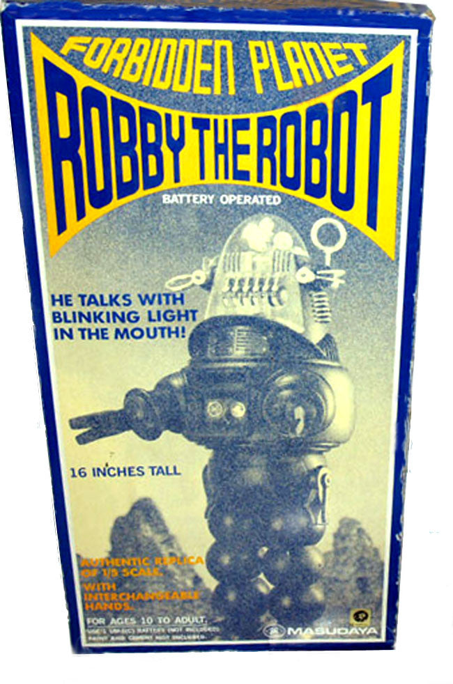 Masudaya Japan Robby The Robot Talking 16 inch Action Figure