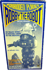 JUST ARRIVED! Masudaya Japan Robby The Robot Talking 16 inch Action Figure - Early First Edition!