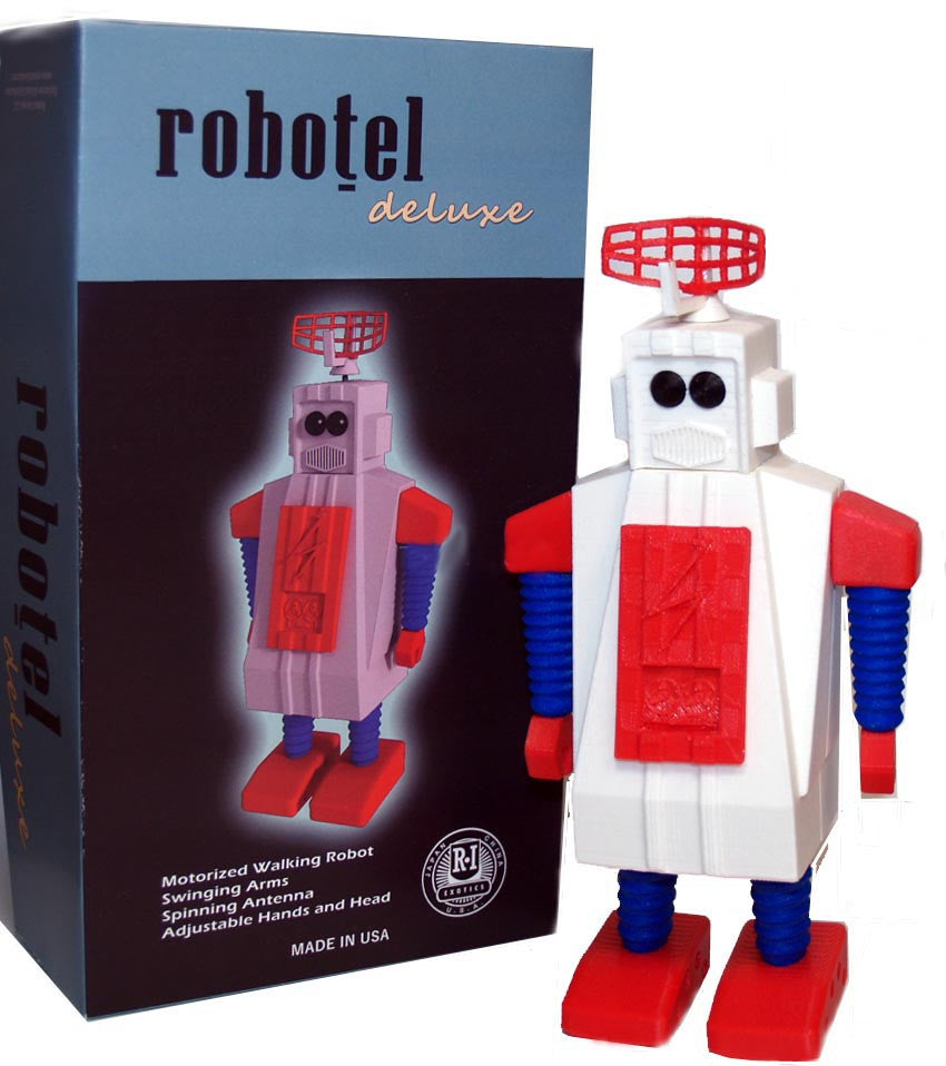 Robotel Robot Battery Operated Made in USA
