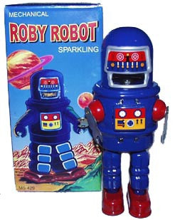 Roby Wind up Robot