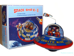 Flying Saucer X-11 Tin Toy Windup - IN STOCK!