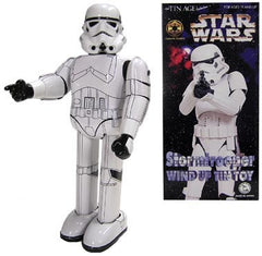Osaka Tin Toy Stormtrooper Robot Wind Up Star Wars