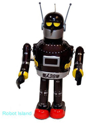 Gigantor T-28 Robot Japan Osaka Tin Toy Windup Live Action Version