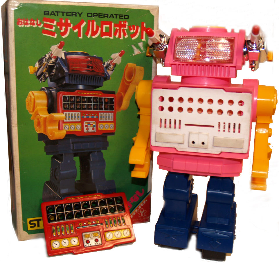Prototype Sample Yonezawa Talking Robot direct from original factory - SOLD!