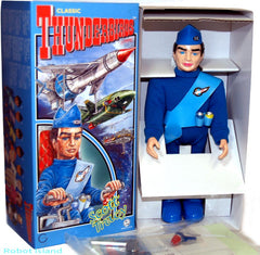 JUST ARRIVED! Osaka Tin Toy Japan Robot Windup Thunderbirds Gerry Anderson - Scott Tracy