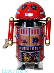 Google Droid Robot Tin Toy Windup Google by Welby Toys
