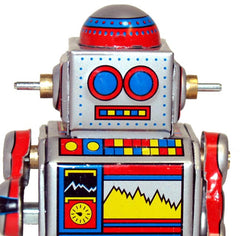 Droid Robot Tin Toy Windup - SALE!