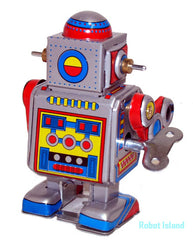 Mechanical Droid Robot Tin Toy Windup - SALE!