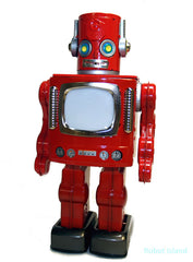 Metal House Video Robot New RED