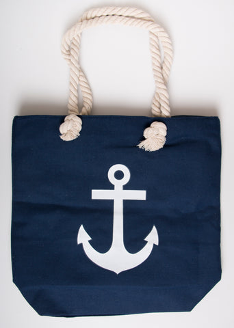 BEACH BAG - Navy