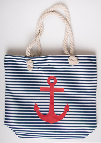 BEACH BAG - Striped