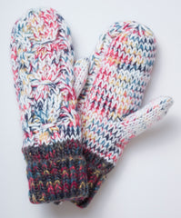 Plush Mittens - Multicolor