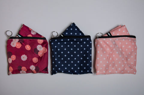 REUSABLE BAGS - Set of 3
