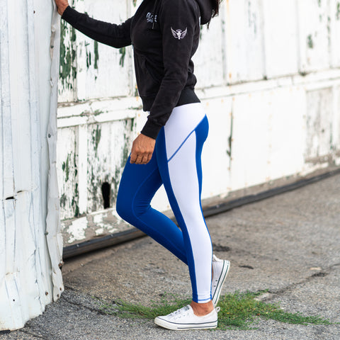 Blue Aero Leggings