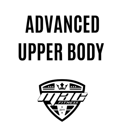 Intermediate Upper Body (8 Weeks/4-Day Split)