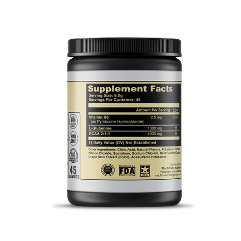 Mac Fitness PURE BCAA - Post/Intra Workout (Watermelon)