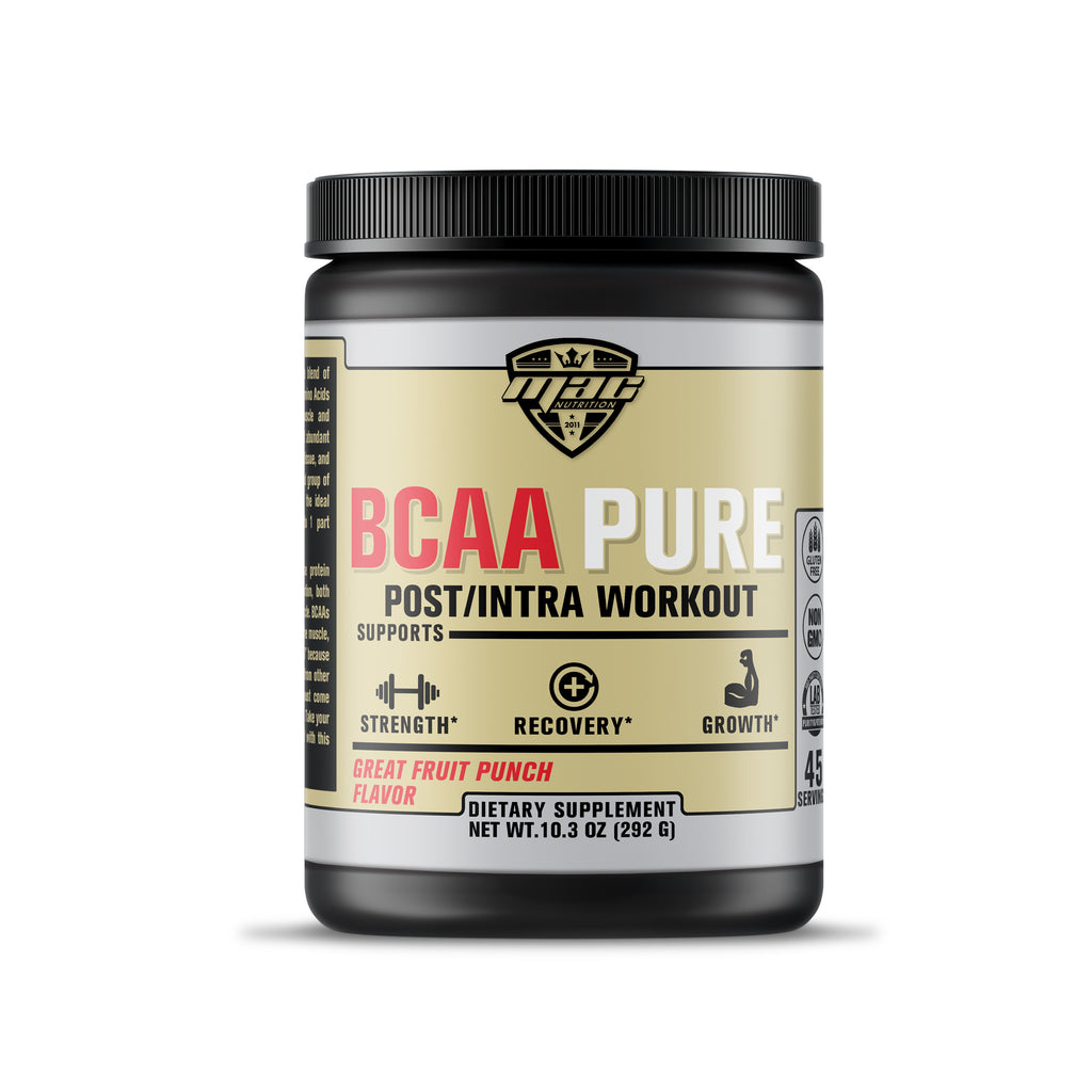 BCAA PURE -  Postworkout / intraworkout (Fruit Punch)