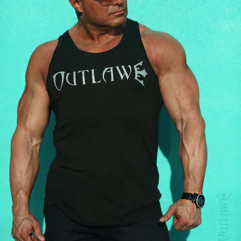 Men's Outlaw Roughneck Fitted Tank