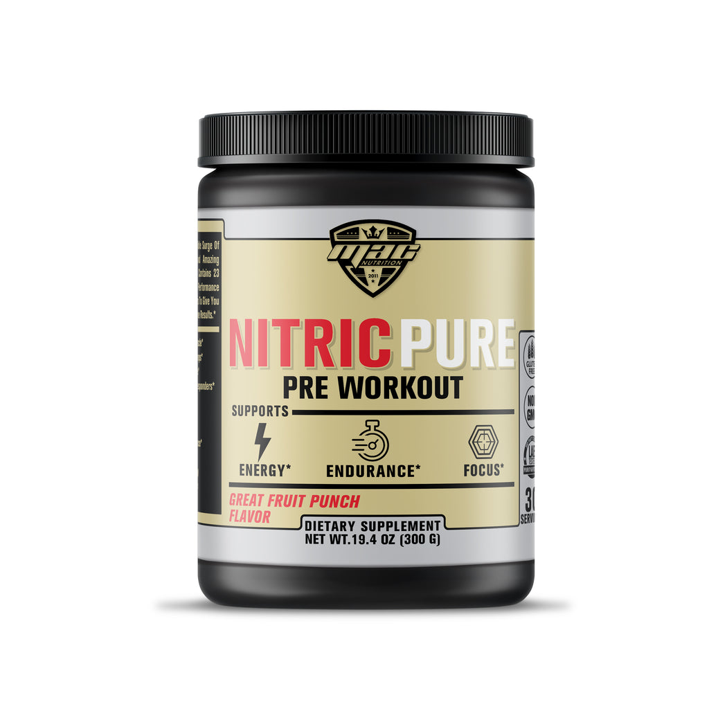 Nitric Pure Pre Workout (Fruit Punch)