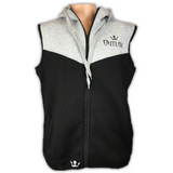 Men's Sleeveless Zip Up Sport Fit Hoodie